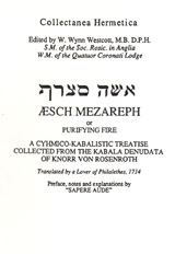"""Aesch Mezareph"" or ""Purifying Fire."""