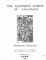 """The Triumphal Chariot of Antimony"""